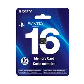 Cartão Memória 16gb Original Sony Vita Psvita Memory Card