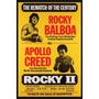 Carteles Antiguos Chapa Poster 60x40cm Rocky 2 Apollo Fi-001