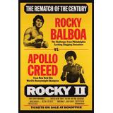 Posters Afiches Lámina Full Hd 30x20cm Rocky 2 Apolo Pfi-001