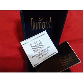 Dumont : Estojo/caixa De Luxo Original De Relógios C/ Manual
