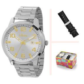 Kit Relógio Condor Troca Pulseira Co2115tb/3b