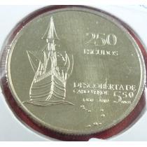 Cabo Verde Moneda 550 Aniv. Desc. Cabo Verde 250 Escud 2010