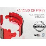 Jogo Sapata Lona Freio Traseiro Nissan Pick Up D21 4x2 92/97