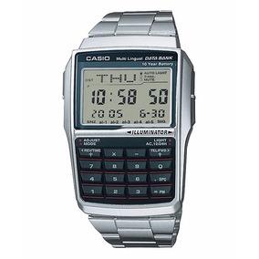 Relogio Casio Data Bank Dbc-32d-1a Calculadora Db-36