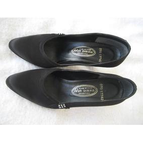 Zapatos De Ante Negros Para Fiesta De Tacon 24 Mex, Hermosos