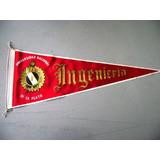 Antiguo Banderin Ingenieria Universidad De La Plata