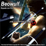 Espada Medieval Cruzada Beowulf Full Tang Filo Extremo