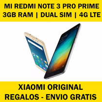 Original Xiaomi Mi Redmi Note 3 Pro Prime High Global 3 Ram