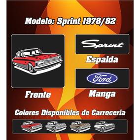 Remera Ford Falcon Sprint 78-82, 100% Algodon Ac Estampas