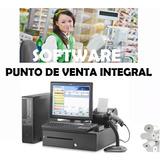 Programa Punto De Venta Control De Inventarios Lic. Original