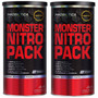 Kit C/ 2x Monster Nitro 44 Packs - Probiótica - Nova Formula