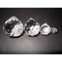 Esferas Cristal Facetada Feng Shui Armonizar La Energia 3 Cm