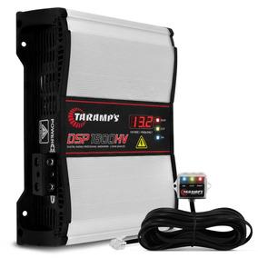 Módulo Taramps Dsp 1800 Hv 1800w Rms 1 Ohm Alta Voltagem