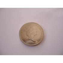 Moeda Níquel 10 Dez New Pence 1992 Inglaterra