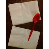 Servilleta Papel 17x16 Tissue Blanca Servilletero 10 Paqx400