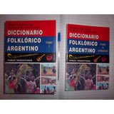 Diccionario Folklorico Argentino Felix Coluccio 2 Tomos Envi