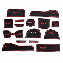 Kit Acessórios Honda New Fit Tapetes P/ Portas, Objetos, Etc