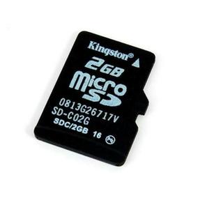 Micro Sd De 2gb Kingston Sueltas Pack De 12 Pz