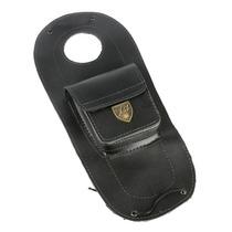 Protetor De Tanque C/ Bolso Em Couro Suzuki Intruder 125