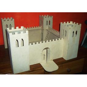 Casa Castillo Medieval En Fibro Facil