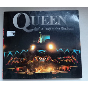 Raro Cd Queen A Day At The Stadium - Live At Wembley 1986