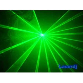 Laser Show 50mw Verde Dmx - Iluminação Dj - Festas Dj