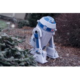 Robot Star Wars R2 Hecho En Opalina Siliconada - Maqueta