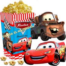 Kit Imprimible Cars Disney Cotillon Y Candy Bar