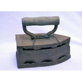 Antiguo Planchón En Hierro Fundido Código 1039