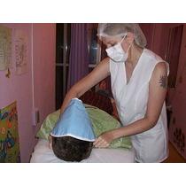 Máscara Térmica Facial Para Limpeza De Pele Reforçada 220w