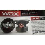 Db Drive Subwoofer Spl Competencia Wdx 12 5k 5000 Whatts