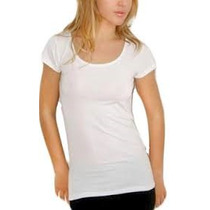 Remeras De Mujer 100% Poliester Ideal Para Sublimar S..xxl
