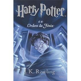 Harry Potter E A Ordem Da Fênix Livro J. K. Rowling
