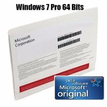 Windows 7 Professional 64 Bits Original En Caja Sellada Dvd