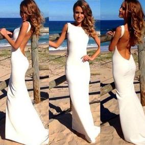Vestido Importado Longo Transparente Sensual