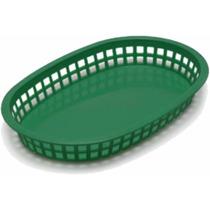Canasta Mod.oblonga Para Alitas Color Verde Food Oferta !!!
