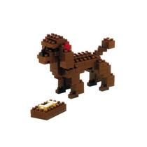 Nanoblock Perro Toy Poodle Mini Bloques Ármalo Tu Mismo