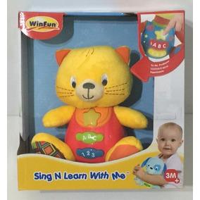 Mi Amigo Inteligente Gato Winfun Habla Musical Didactico