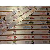 100 Etiquetas P/ Colegio Ropa Personalizadas Para Planchar