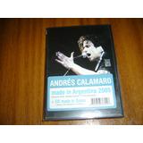 Cd+dvd Andres Calamaro / Made In (nuevo Y Sellado)