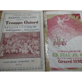 Libretos, Programas De Carnaval Todos Los Conjuntos Y Años.
