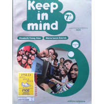 Livro Keep In Mind 7º Ano + Cd - Elizabeth Young Chin E Mari