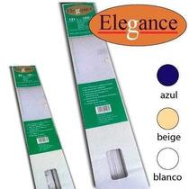 Persianas Miniflex De Pvc De 109x150 Cms Blanco, Beige