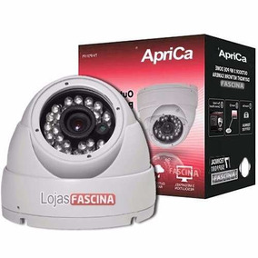 Camera Para Dvr Infra Vermelho 24 Leds 30mt Dome Linhas 36mm