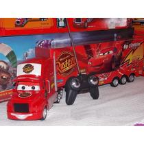 Caminhão Mcqueen Gigante Controle Remoto-bateria Recarregáve