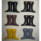 Botas Mego Ironman, Star Wars Lili Ledy, Barbie 5 Paresx$180