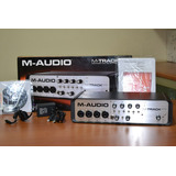 Placa Interface M Audio Quad + Cubase E Sound Forge