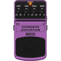 Pedal Behringer Overdrive/distortion Od300