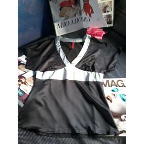 Blusa Kimono De Seda Sybilla- Nuevo !!