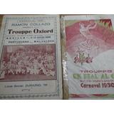 Libretos Programas De Carnaval De Todos Los Años Y Conjuntos